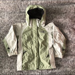 The North Face girls hooded jacket S 7/8